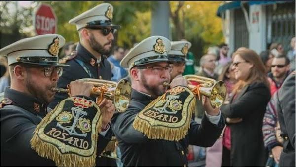 Rosario, la banda de Cádiz que ya sueña con la Semana Santa de 2021