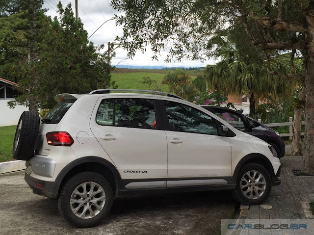 VW CrossFox I-Motion 2016 x Honda FIT 2016 EX