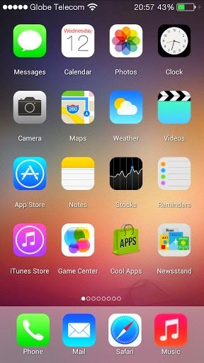 iOS 7 Launcher 1 0 APK Download - Android Apps