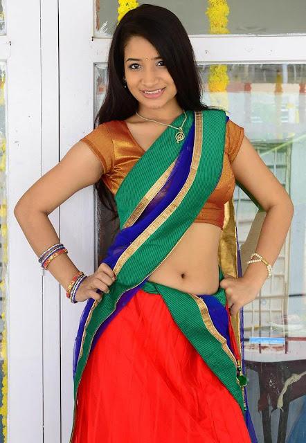 Santoshi Sharma navel show