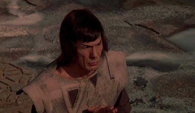 Mr Spock on Vulcan