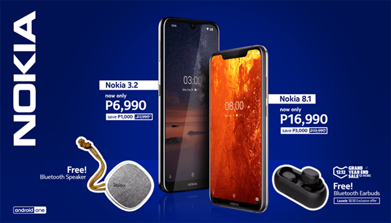 Sale Alert: Nokia drops 3.2 and 8.1 prices