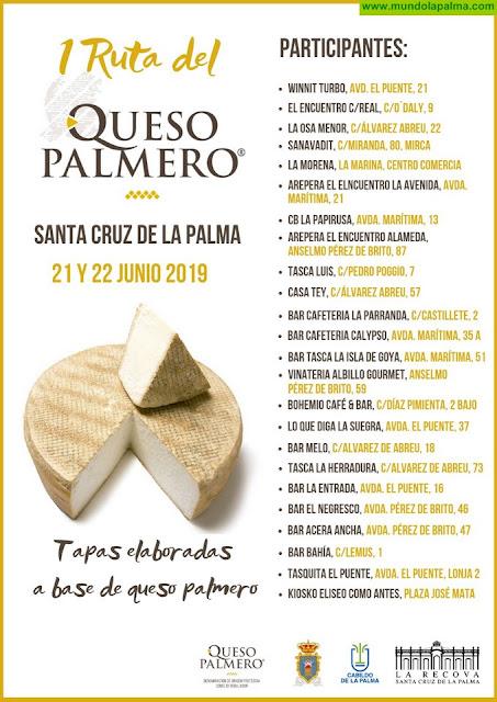 Hoy comienza la I Ruta del Queso Palmero en Santa Cruz de La Palma