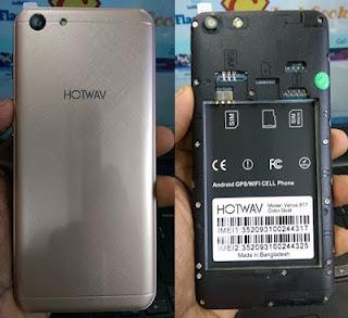 hotwav x17 flash file