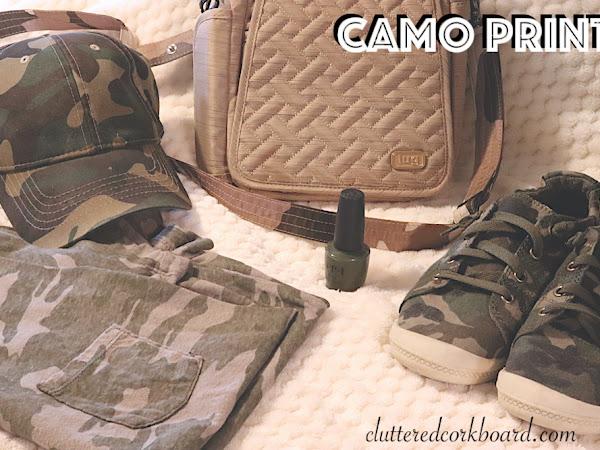 CAMO Print | Save Vs. Splurge