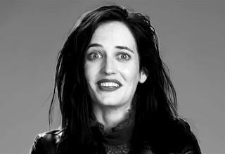 Eva Green Shocking Facial Expression