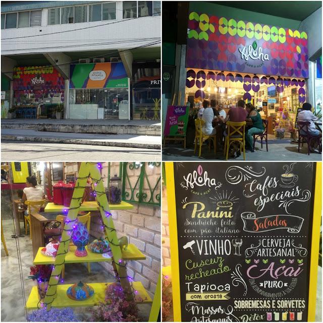 Onde comer e sair em Recife? Aloha Café & Açaí
