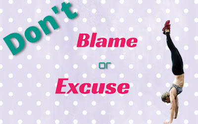 do not blame or excuse for diet control