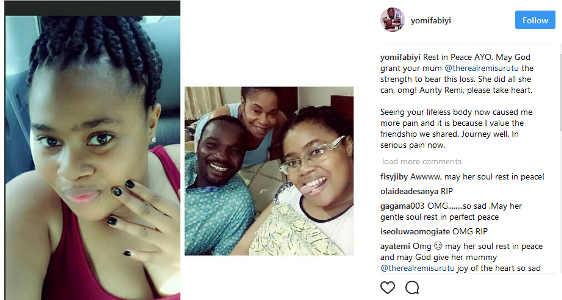 Image result for Star Actress, Remi Surutu Loses 1st Daughter