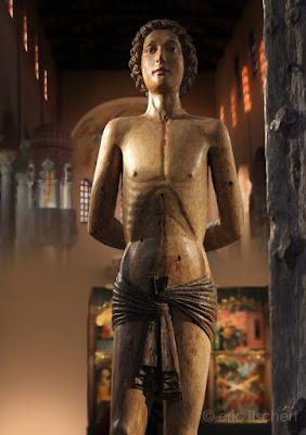 Critiques, Sculptures, Saint-Sébastien, brafa, statue, jacques de voragine, légende dorée,