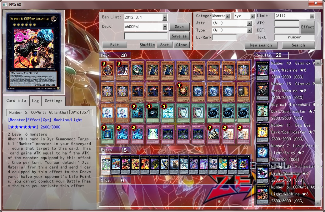 Percival18 Yu-Gi-Oh blog: 2012