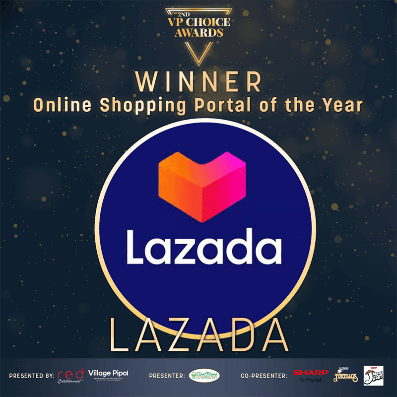 Lazada is the Online Shopping Portal of the Year