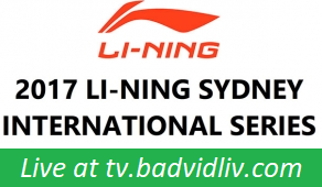 Li-Ning Sydney International 2017 live streaming