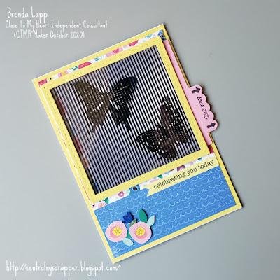 Creativity in Motion card created by Brenda Lapp