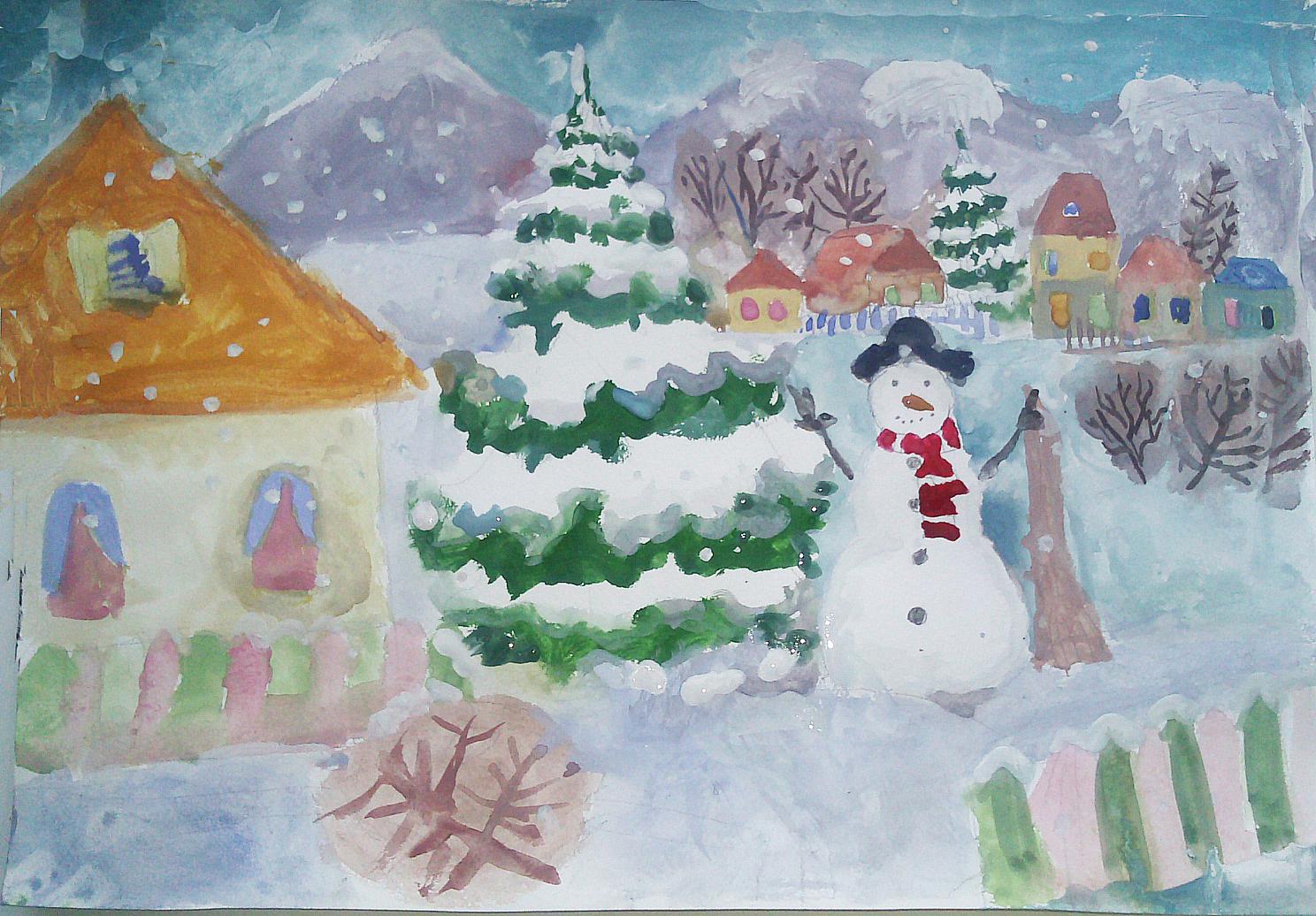 Здравствуй зимушка зима картинки
