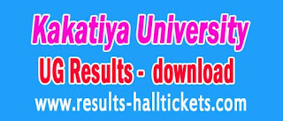 Kakatiya University KU UG I II & IIIrd year Revaluation Results Announced in 2016