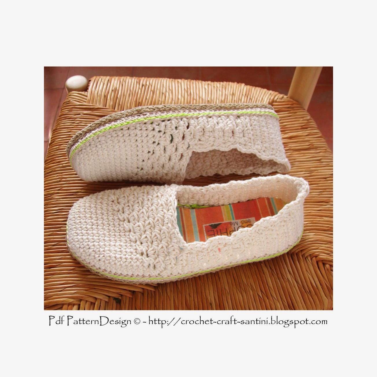 Slanting Line Toe Piece Crochet Slipper Espadrilles Toms