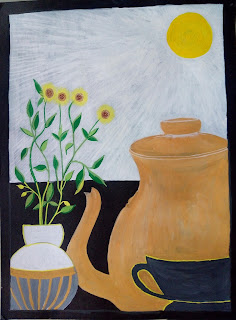 Kettle cup Drawing