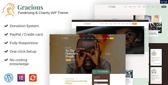 Best Charity and Donation WordPress Theme