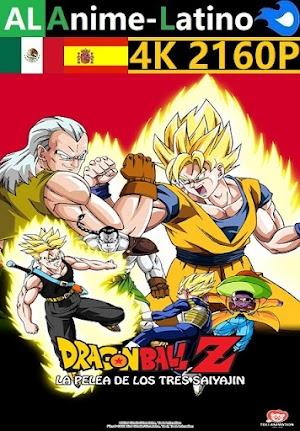 Dragon Ball Z - La pelea de los tres saiyajin [1992] [4K ULTRA HD] [2160P] [Latino] [Castellano] [Inglés] [Japonés] [Mediafire]