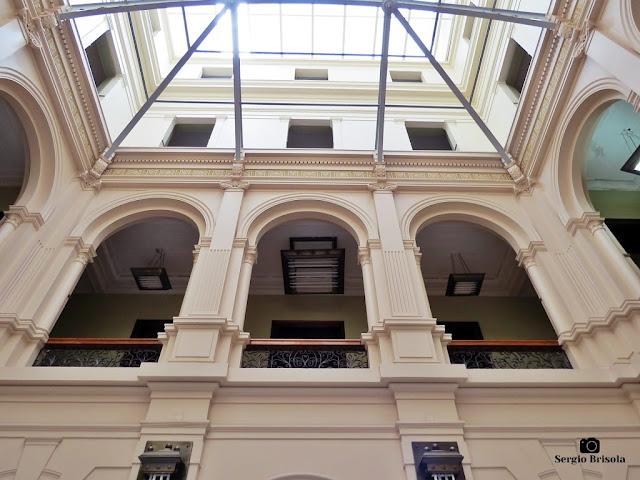 Vista do átrio do Palácio Manoel Pedro Pimentel - Centro - São Paulo