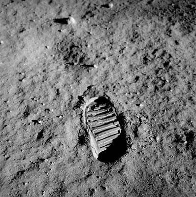 First-Step-On-Moon-Surface