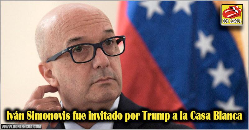 Iván Simonovis fue invitado por Donald Trump a la Casa Blanca