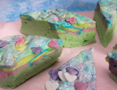 Homemade Marshmallows - Unicorn Style