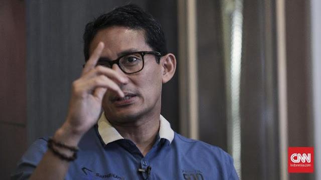Jokowi Sebut Sontoloyo, Sandi Singgung Ekonomi Ojo Loyo