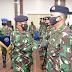 Komandan Pangkalan Utama TNI Angkatan Laut I Pimpin Sertijab 3 Pejabat