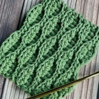 Punto Almendra a Crochet