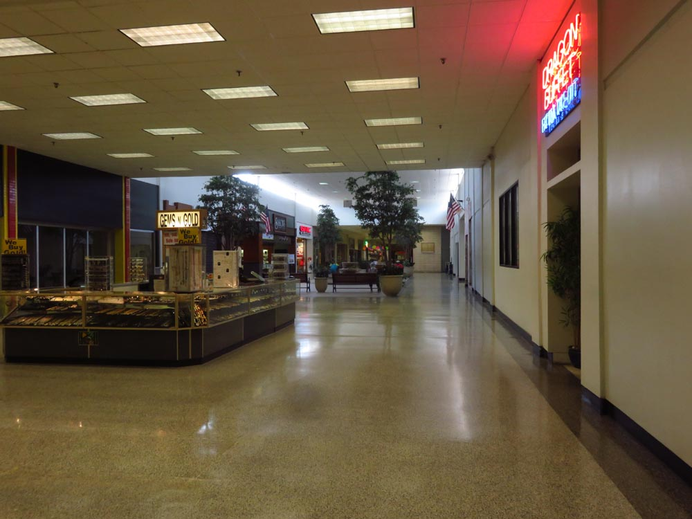 Sky City: Retail History: Southgate Mall: Elizabeth City, NC