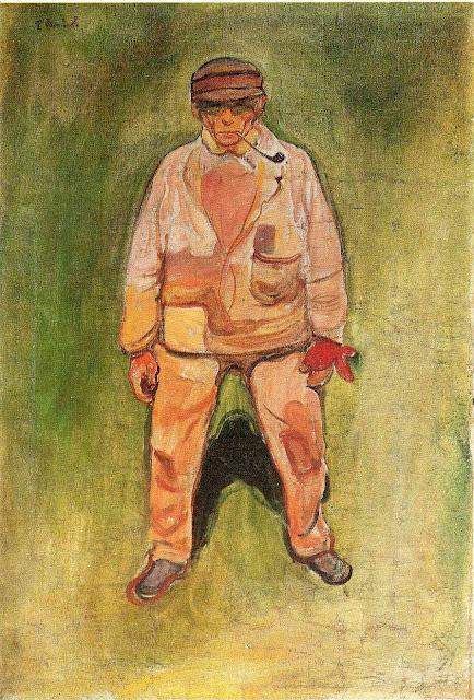 Эдвард Мунк - Рыбак. 1902