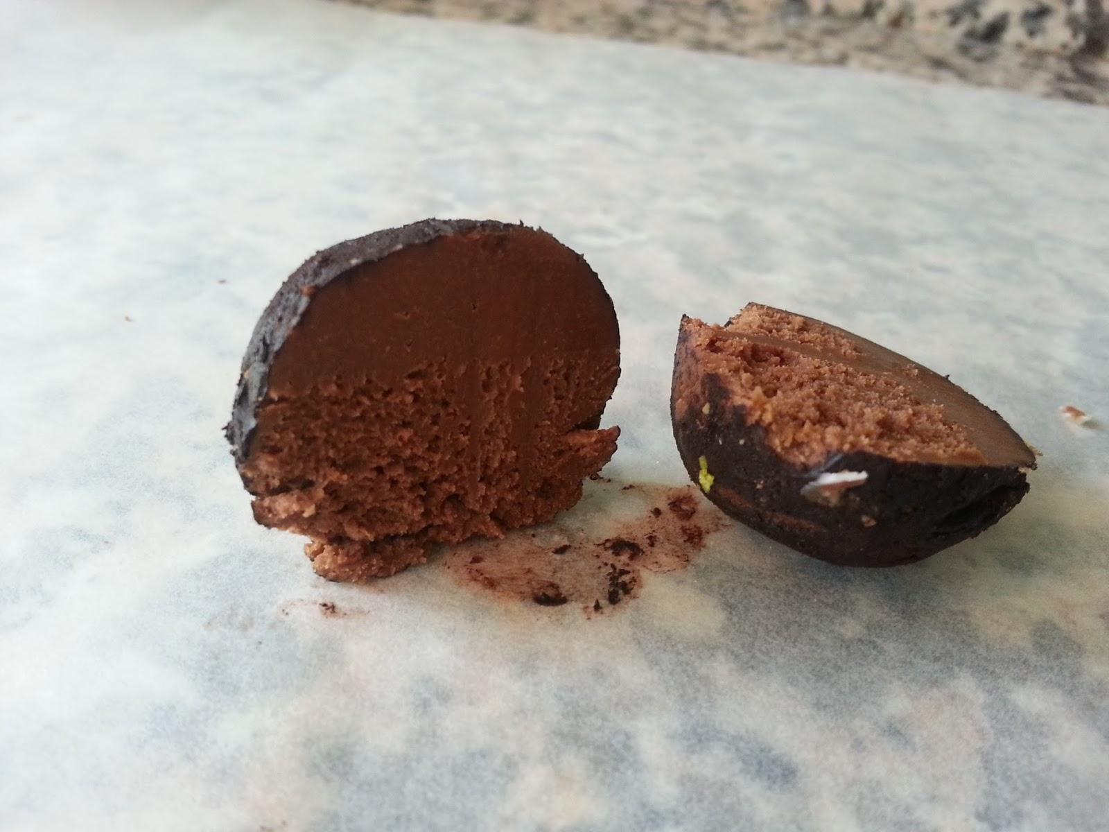 Kakao Kaplı Truf Çikolata Videosu 13