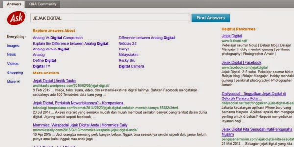 jejak digital ask search