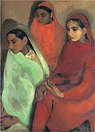 Three Girls - 1935 - Amrita Sher-Gil