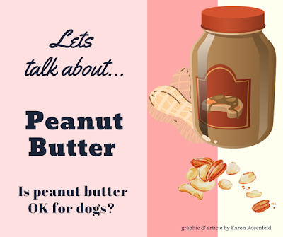 Peanut butter is bad for dogs