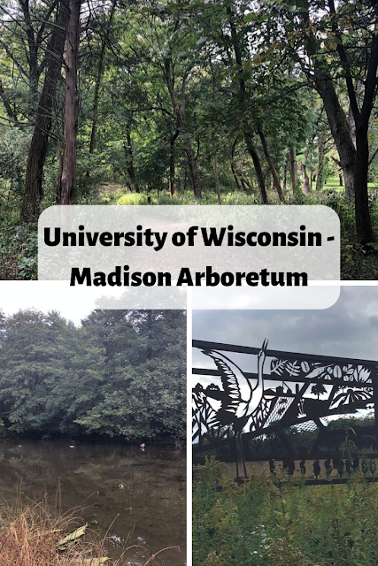 Wandering the Paths of the University of Wisconsin - Madison Arboretum