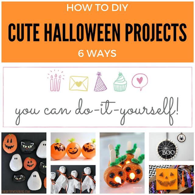 6 Cute Halloween Craft Ideas