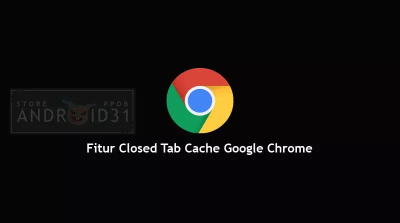 Fitur Closed Tab Cache Google Chrome