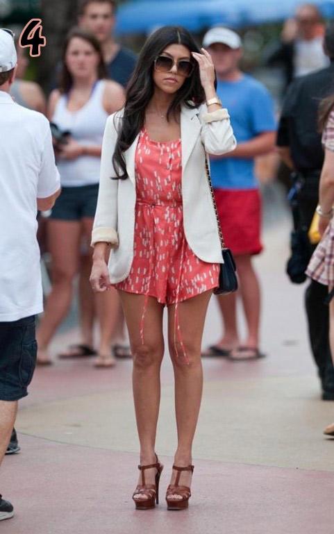 Kourtney Kardashian Fashion Zakrecona Milka