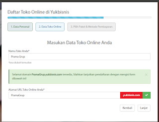 Panduan Lengkap Membuat Toko Online di Yukbisnis.com