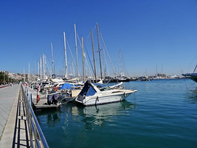 port z jachtami na Majorce, największa przystań