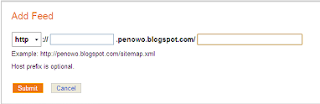 cara submit blog ke bing