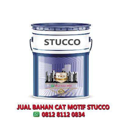 JUAL BAHAN CAT MOTIF STUCCO - JAKARTA