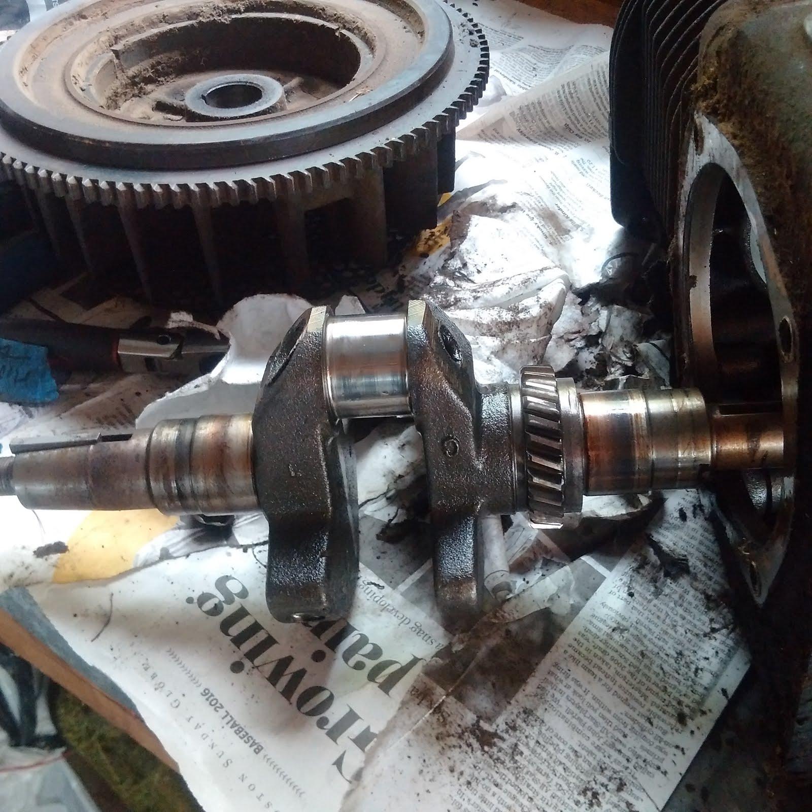 The Tear Down Part 2 - Kohler K321 Engine Tear Down | Adventures