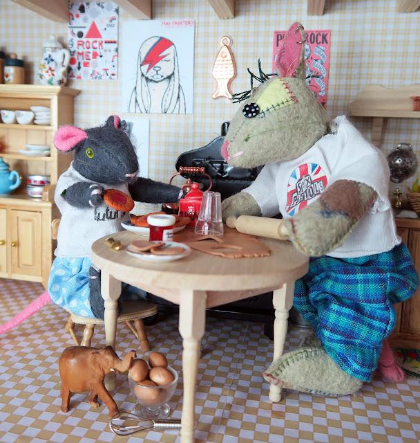 picnic, pique nique ; souris