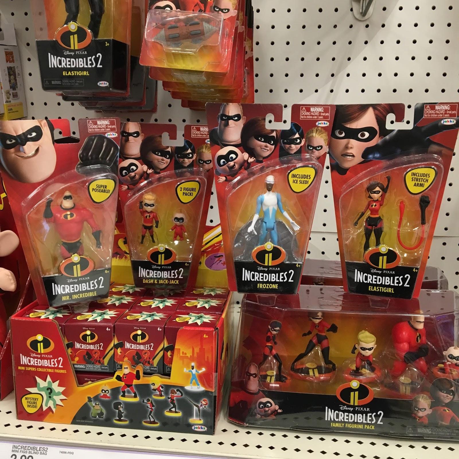 Dan The Pixar Fan: Jakks Pacific Incredibles 2 Toys