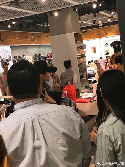 [FANTAKEN] 170425 Sehun & Suho Spotted At NYC