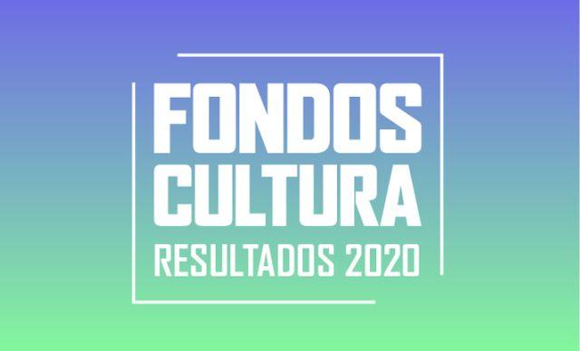 Resultados de los fondos de cultura 2020